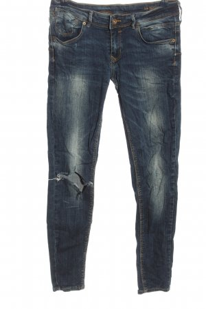 Mango Low Rise jeans blauw casual uitstraling