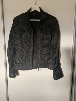 Mango Biker Jacket black polyester