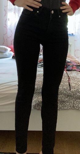Mango Jeans skinny nero