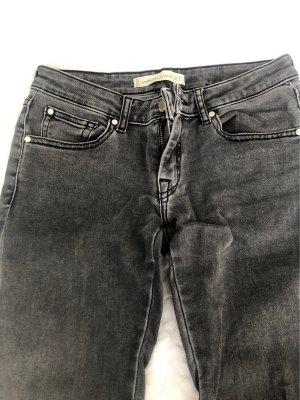 Mango Jeans a 7/8 grigio-grigio chiaro