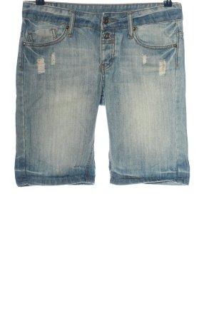 Mango Jeans Bermuda blau Casual-Look