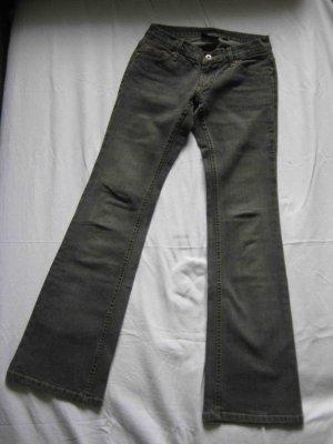 Mango Jeans Boot Cut, dunkelgrau - Casual Look
