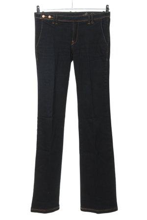 Mango Jeans Boot Cut Jeans blau Casual-Look
