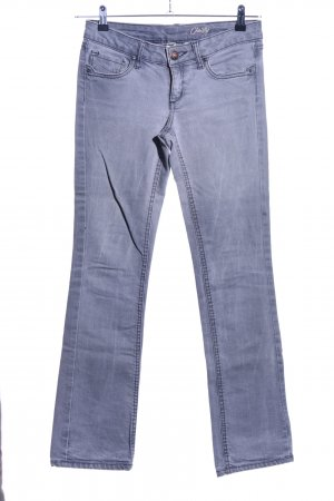 Mango Jeans Boot Cut Jeans blau Casual-Look