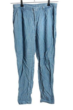 Mango Jeans Chinohose blau Casual-Look
