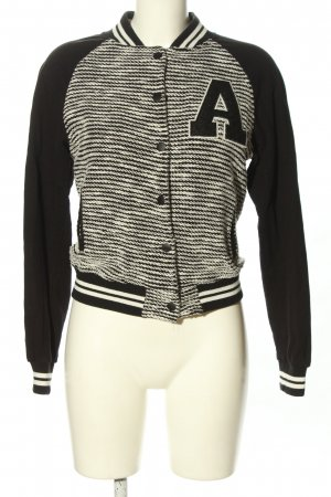 Mango Jeans College Jacket black-white casual look