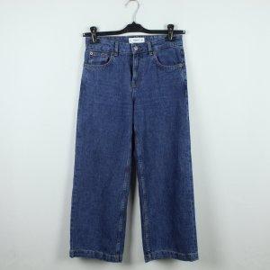 Mango Jeans Culottes Gr. 34 blau (19/12/024)