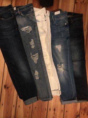 Mango Jeans denim 32 xs xxs Paket skinny Nancy lonny Girlfriend boyfriend