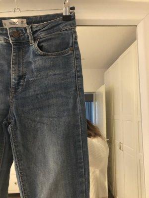 Mango jeans eng xxs / xs hightwaist authentic