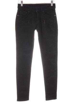 Mango Jeans Five-Pocket-Hose schwarz Casual-Look