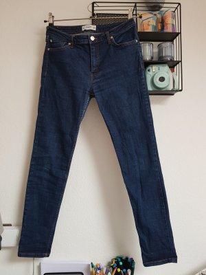 Mango Jeans Gr. 38 dunkelblau