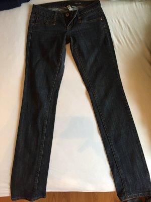 Mango Jeans GR Eur 36/ De34 Bianca dunkelblau
