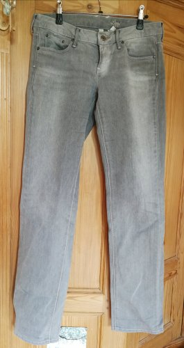 Mango Jeans grau, gerader Schnitt