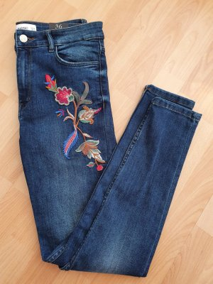 Mango Jeans High Waist neu Skinny Bluejeans gr. 36
