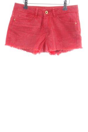 Mango Jeans Hot pants rosa stile casual