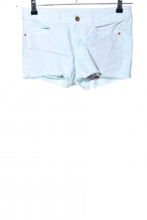 Mango Jeans Hot Pants blau Casual-Look