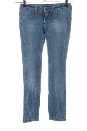 Mango Jeans Hüftjeans blau Casual-Look