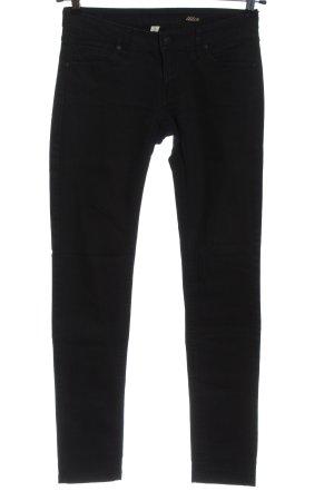 Mango Jeans Jeans taille basse noir style décontracté