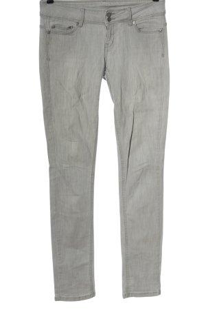 Mango Jeans Jeansy biodrówki jasnoszary Elegancki