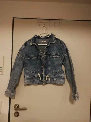 Mango Jeans Jacke Cazadora denim lavado medio 34