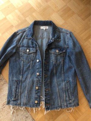 Mango jeans Jacke / denim mit Fransen