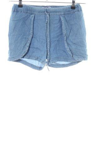 Mango Jeans Pantaloncino di jeans blu stile casual