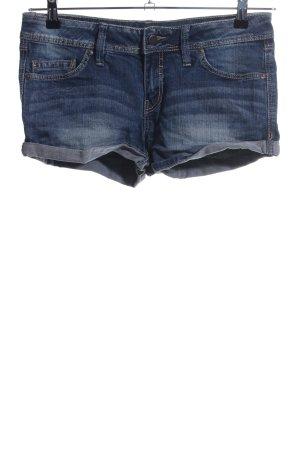 Mango Jeans Jeansshorts blau Casual-Look