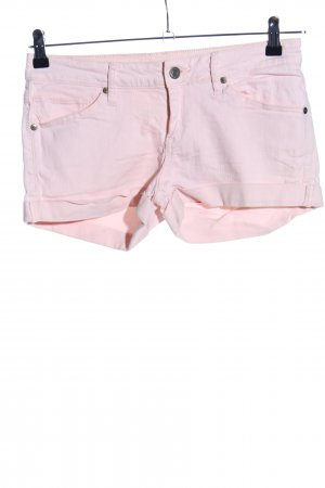 Mango Jeans Pantaloncino di jeans rosa stile casual