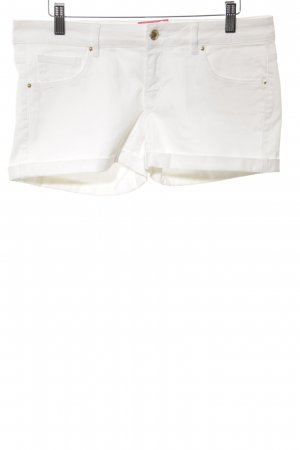 Mango Jeans Jeansshorts weiß Casual-Look