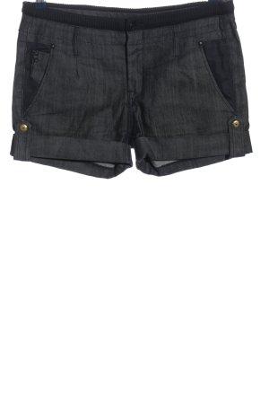 Mango Jeans Jeansshorts schwarz meliert Casual-Look