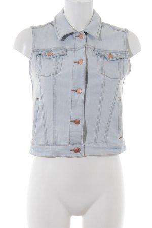 Mango Jeans Jeansweste himmelblau Casual-Look