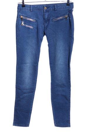 Mango Jeans Jeggings blau Casual-Look
