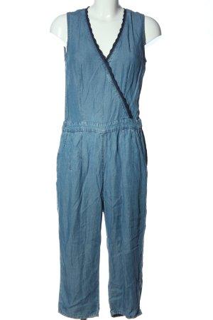Mango Jeans Jumpsuit blau Casual-Look