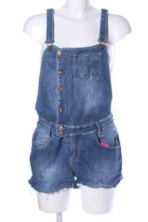 Mango Jeans Latzhose blau Casual-Look