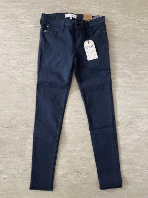 Mango Jeans skinny blu scuro