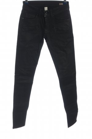 Mango Jeans Röhrenjeans schwarz Casual-Look