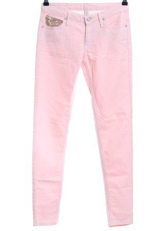 Mango Jeans Röhrenjeans pink Casual-Look