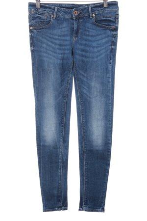 Mango Jeans Röhrenjeans kornblumenblau Casual-Look