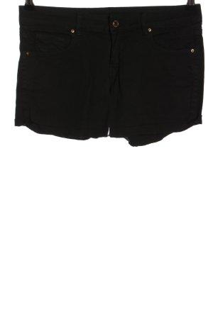 Mango Jeans Shorts schwarz Casual-Look