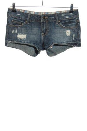 Mango Jeans Shorts blau Casual-Look