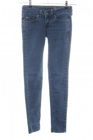 Mango Jeans Skinny Jeans blau Casual-Look