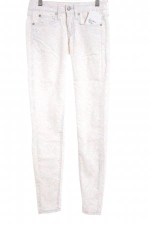 Mango Jeans Skinny Jeans abstraktes Muster Casual-Look