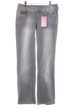 Mango Jeans Skinny Jeans hellgrau Casual-Look