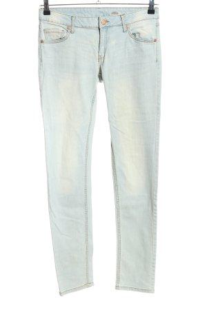 Mango Jeans Slim Jeans blau Casual-Look