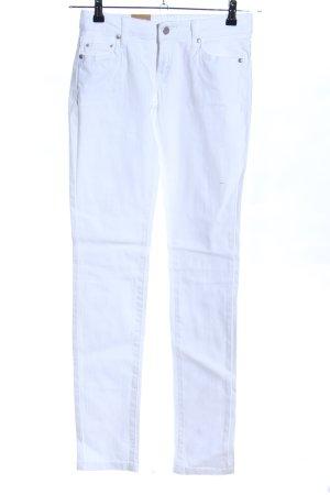 Mango Jeans Vaquero slim blanco look casual