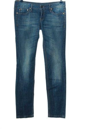 Mango Jeans Straight-Leg Jeans blau Casual-Look