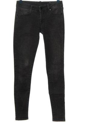 Mango Jeans Stretch Jeans schwarz Casual-Look