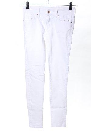 Mango Jeans Jeans stretch blanc style décontracté