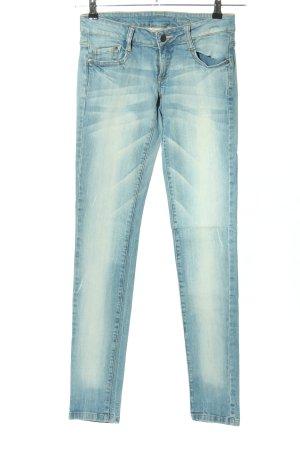 Mango Jeans Stretch Jeans blau Casual-Look