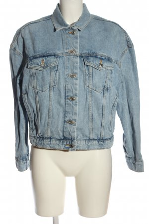 Mango Veste en jean bleu style décontracté